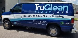 Custom Commercial Van Wrap