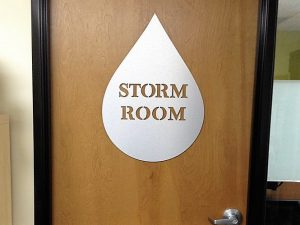 Room ID Signs indoor door custom sign 300x225